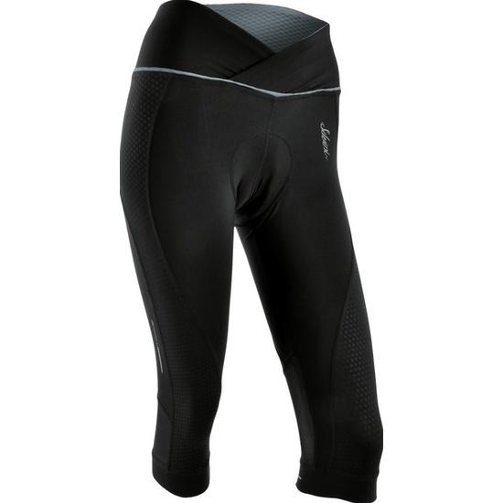 Dámské 3/4 cyklistické kalhoty Silvini TINELLA WP1010 black