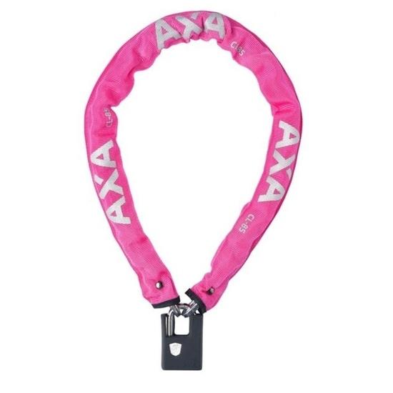 Zámek AXA Clinch+ 85 85/6 klíč růžová