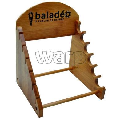 Dřevěný stojan na nože Baladéo PRE002