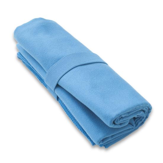 Rychleschnoucí ručník Yate HIS barva modrá L 50x100 cm