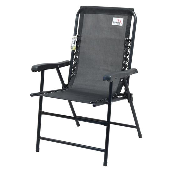 Židle zahradní skládací Cattara TERST černá