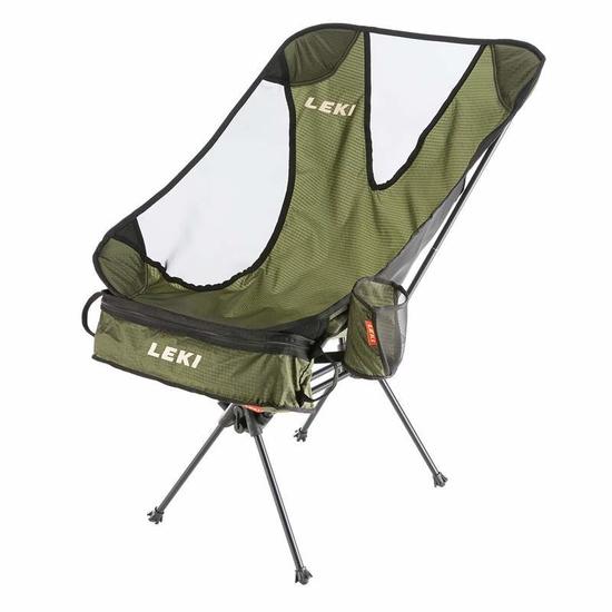 Židle LEKI Chiller Olive 6403014