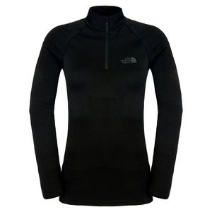Triko The North Face W HYBRID L/S ZIP NECK C215JK3, The North Face