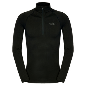 Triko The North Face M HYBRID L/S ZIP NECK C205JK3, The North Face