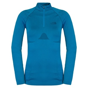 Triko The North Face W HYBRID L/S ZIP NECK C215D7Q, The North Face