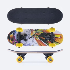 Mini skateboard Spokey BLOXY 43 x12,5 cm, Spokey