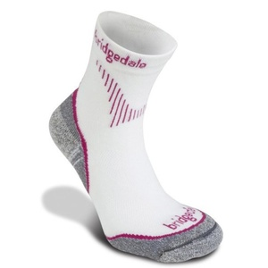 Ponožky Bridgedale CoolFusion Run Qw-ik Women's ML dusky pink/303, bridgedale