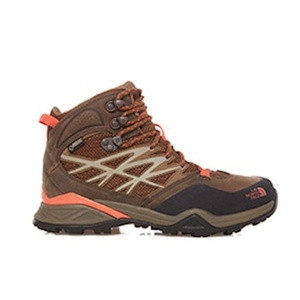 Boty The North Face W HH HIKE MID GTX MOREL BROWN/RAD CDF3GRX, The North Face