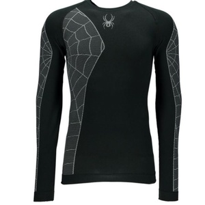 Nátělník Spyder Men`s Skeleton (Boxed) X-Static® L/S 156501-001