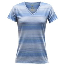 Triko Devold Breeze Woman T-shirt V-neck 180-218 519, Devold