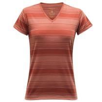 Triko Devold Breeze Woman T-shirt V-neck 180-218 523, Devold