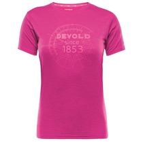 Triko Devold Breeze Woman T-shirt s potiskem 180-290 188