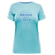 Triko Devold Breeze Woman T-shirt s potiskem 180-290 303, Devold