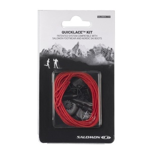 Tkaničky Salomon QUICKLACE KIT Red 326674, Salomon