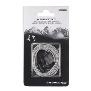 Tkaničky Salomon QUICKLACE KIT Grey 326676, Salomon