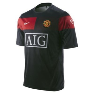 Triko Nike Manchester United SS Pre Match 355105-010, Nike