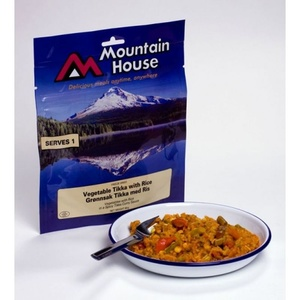Mountain House zelenina Tikka