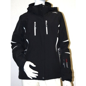 Bunda Campagnolo Woman Ski Jacket Stretch Zip Hood 3W19336-U901, Campagnolo