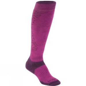 Ponožky Bridgedale All Mountain Women´s 352 berry/plum