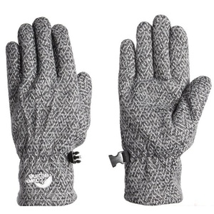Rukavice Lowe Alpine Oxford Glove Women´s charcoal, Lowe alpine