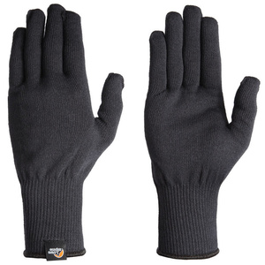 Rukavice Lowe Alpine Stretch Knit Glove černé, Lowe alpine