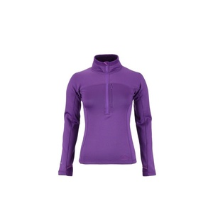 Rolák Lowe Alpine Powerstretch Zip Top Women´s fialová, Lowe alpine
