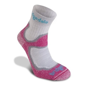 Ponožky Bridgedale CoolFusion Speed Trail Women's dusky pink/303, bridgedale