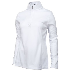 Rolák Spyder Women's Shimmer Bug Velour Fleece T-Neck 147068-100, Spyder