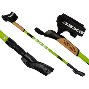 Nordic walking hole Exel NORDIC TRAINER EvoCork lime, Exel