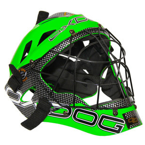 Helma OXDOG GATE GOALIE HELMET senior green/black