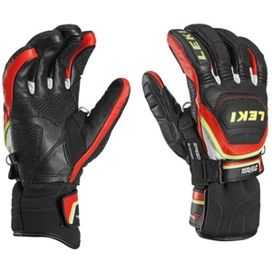 Rukavice LEKI Worldcup Race Flex S Speed System black-red-white-yellow 634-80143, Leki
