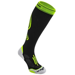 Ponožky Bridgedale Compression Active 008 black/fluro, bridgedale