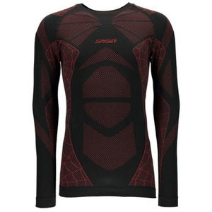 Nátělník Spyder Men`s Captain (Boxed) Seamless L/S 787210-019, Spyder