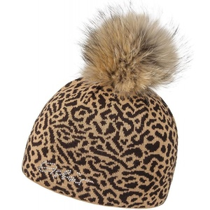 Čepice Eisbär Animal Fur Crystal MÜ 30084-442, Eisbär