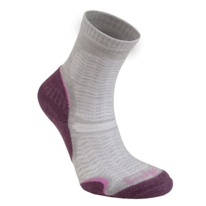 Ponožky Bridgedale WoolFusion Ultra Light Women's aubergine/390, bridgedale