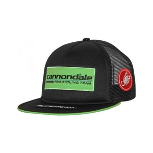 Kšiltovka Cannondale Pro Cycling Team Trucker Cap Black/Green 4206034, Cannondale