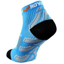 Ponožky ROYAL BAY® Neon Low-Cut Blue 5099, ROYAL BAY®