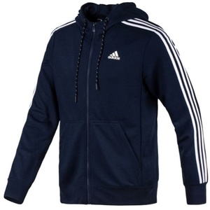 Mikina adidas Sport Essentials 3S Full Zip Hoodie Fleece AK1730, adidas