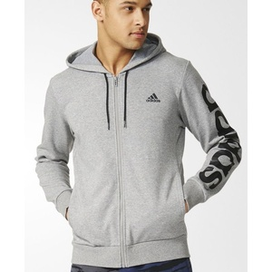 Mikina adidas Sports French Terry Linear FZ Hood B49913, adidas