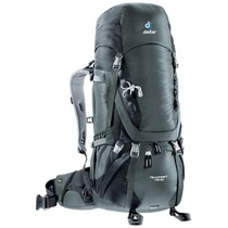 Batoh Deuter Aircontact 45+10 granite-black (3320116), Deuter