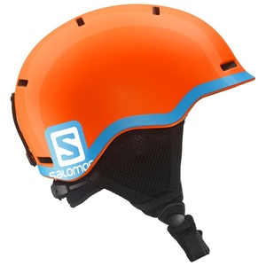 Lyžařská helma Salomon GROM Fluo Orange/Blue 377734, Salomon
