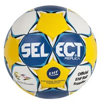 Míč Select Ultimate Replica EC Sweden modro žlutá, Select