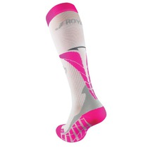 Kompresní podkolenky ROYAL BAY® Air White/Pink 0388, ROYAL BAY®