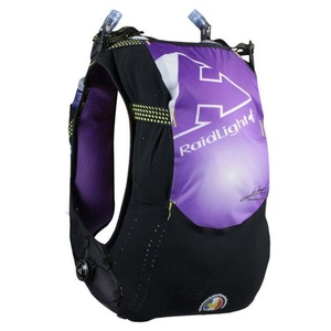 Běžecká vesta Raidlight Responsiv 10L Vest Black/Purple, Raidlight