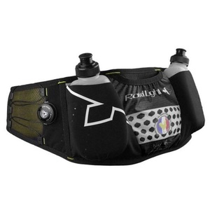 Ledvinka s láhvemi Raidlight Responsiv Belt Black/Yellow, Raidlight