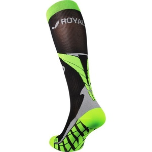 Kompresní podkolenky ROYAL BAY® Air Black/Green 9688, ROYAL BAY®