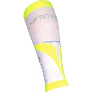 Kompresní lýtkové návleky ROYAL BAY® Air White/Yellow 0188, ROYAL BAY®