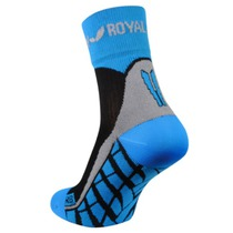 Ponožky ROYAL BAY® Air High-Cut black/blue 9588, ROYAL BAY®