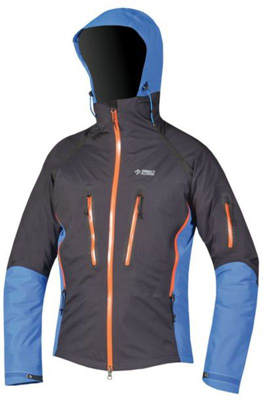 Bunda Direct Alpine TRANGO black/blue/orange