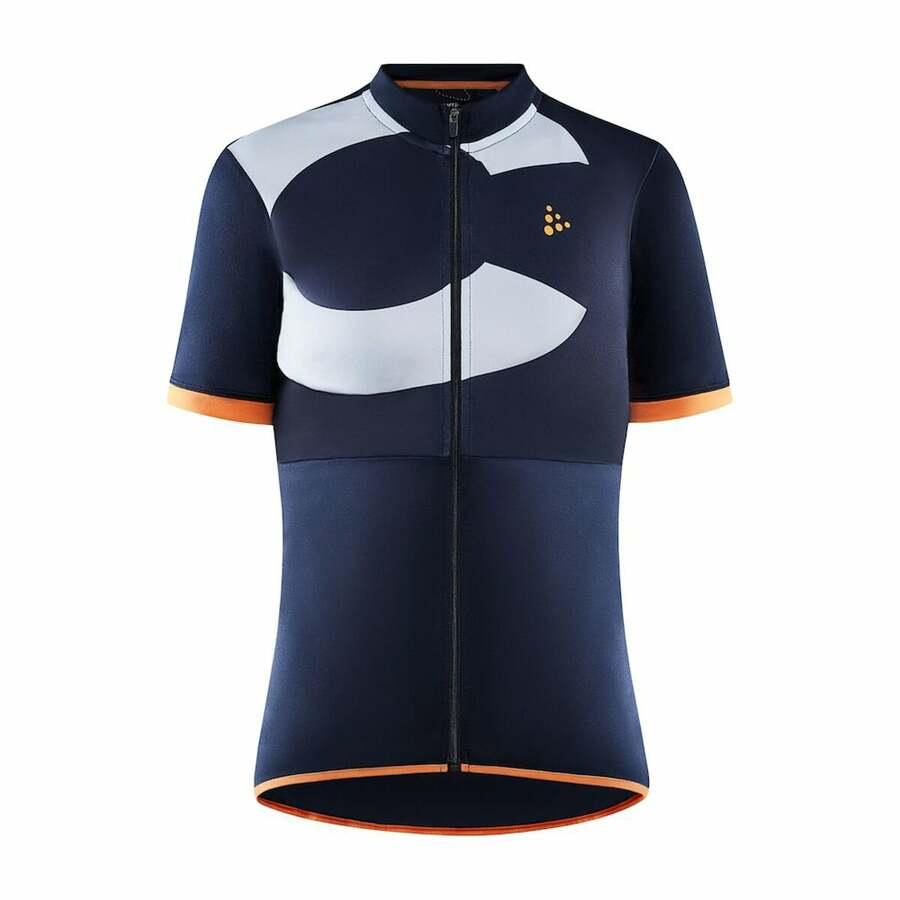 Dámský cyklodres CRAFT CORE Endur Logo 1910562-396909 tmavě modrá